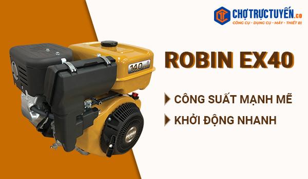 Động cơ Robin EX40 – Công xuất mạnh mẽ - khởi động nhanh