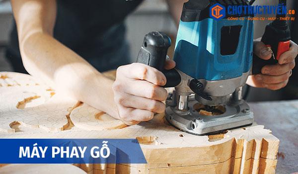 Các công cụ cầm tay thiết yếu cho ngành mộc - Máy phay gỗ