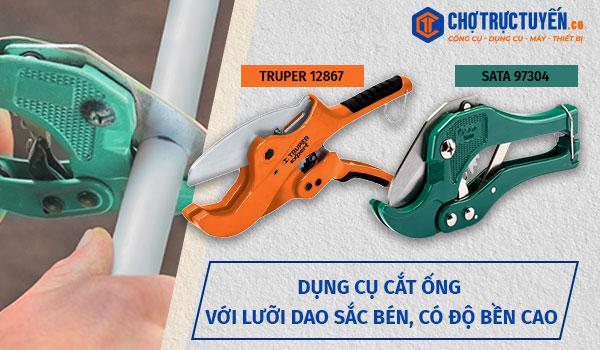 Kềm cắt cộng lực - Giúp việc cắt kim loại dễ dàng và an toàn hơn