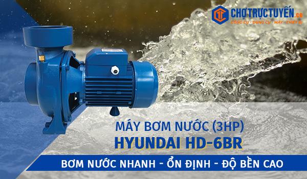 Máy bơm nước HYUNDAI HD-6BR (3HP) - Bơm nước nhanh - ổn định - độ bền cao