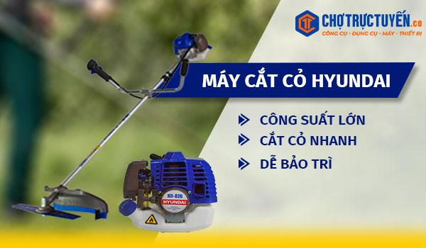 Máy cắt cỏ HYUNDAI - Công suất lớn - Cắt cỏ nhanh - Dễ bảo trì