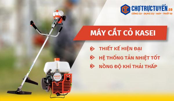 Máy cắt cỏ KASEI - Thiết kế hiện đại - Hệ thống tản nhiệt tốt - Nồng độ khí thải thấp
