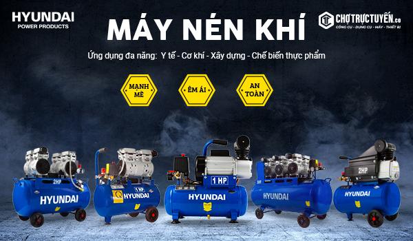 máy nén khí thương hiệu hyundai tại chotructuyen.co