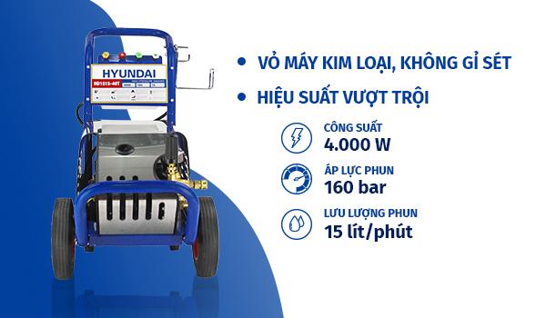 Hình ảnh Máy xịt rửa công nghiệp HYUNDAI HD1515-40T