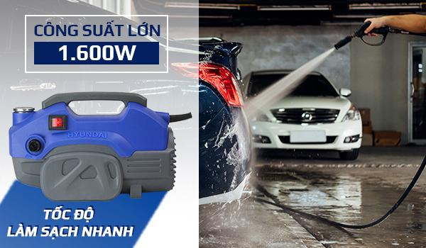 Hình ảnh Máy xịt tăng áp rửa xe Hyundai HRX816