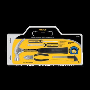 Bộ dụng cụ cầm tay 6 chi tiết PRETUL - 22972