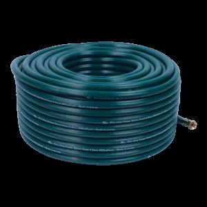 Ống hơi PVC Cro-king 8.5 x 50 (xanh),  lớp nhựa bên ngoài màu xanh, chỉ cotton, áp lực nổ 200 Bar, áp lực làm việc 70 Bar