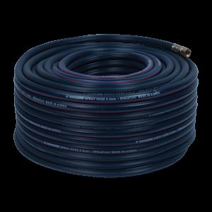 Ống hơi PVC Topsun 8.5 x 50 (xanh),  lớp nhựa bên ngoài màu xanh, chỉ cotton, áp lực nổ 250 Bar, áp lực làm việc 80 Bar