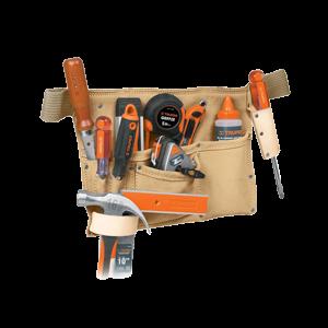 Túi đeo dụng cụ chất liệu vải bố 39*25mm, (không có đồ nghề) TRUPER - 11534