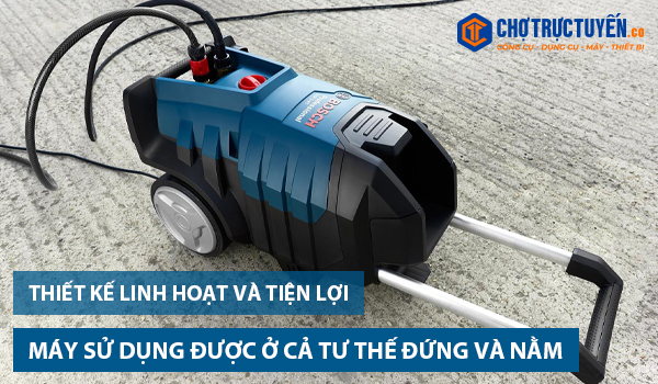 sản phẩm xịt rửa GHP 5-55 là có thể sử dụng được cả ở tư thế đứng và nằm nên rất tiện lợi cho người sử dụng