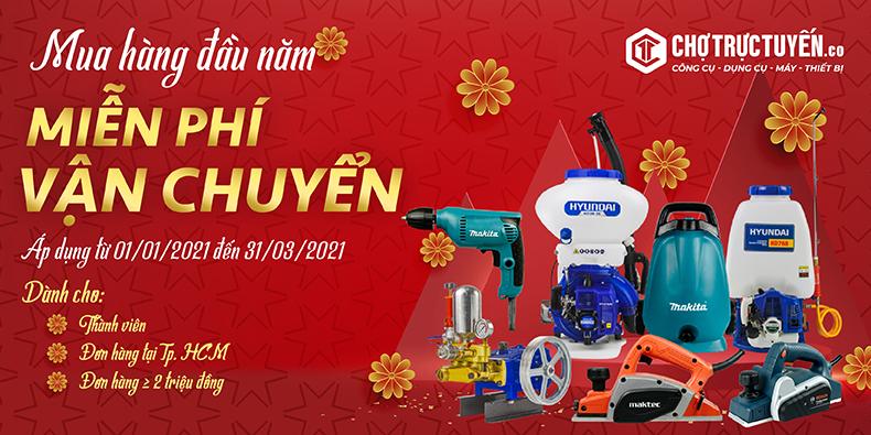 Chương trình miễn phí giao hàng đón chào năm mới tại chotructuyen.co